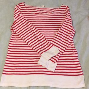 Jcrew 3/4 length shirt